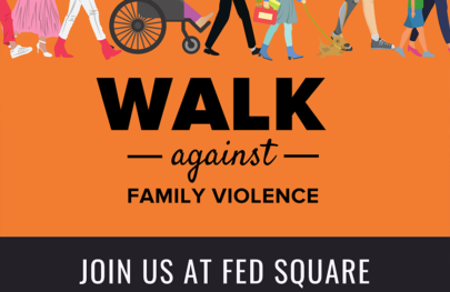 Walk Against Family Violence Poster