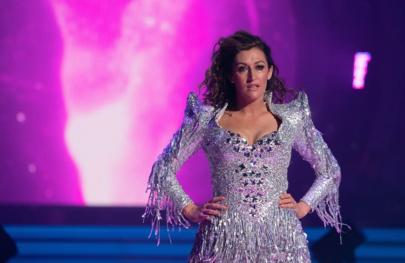 Celia Pacquola performing in Dancing With The Stars